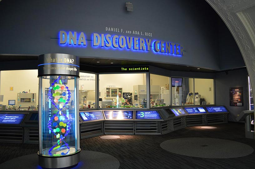 Chicago Field Museum DNA discovery center