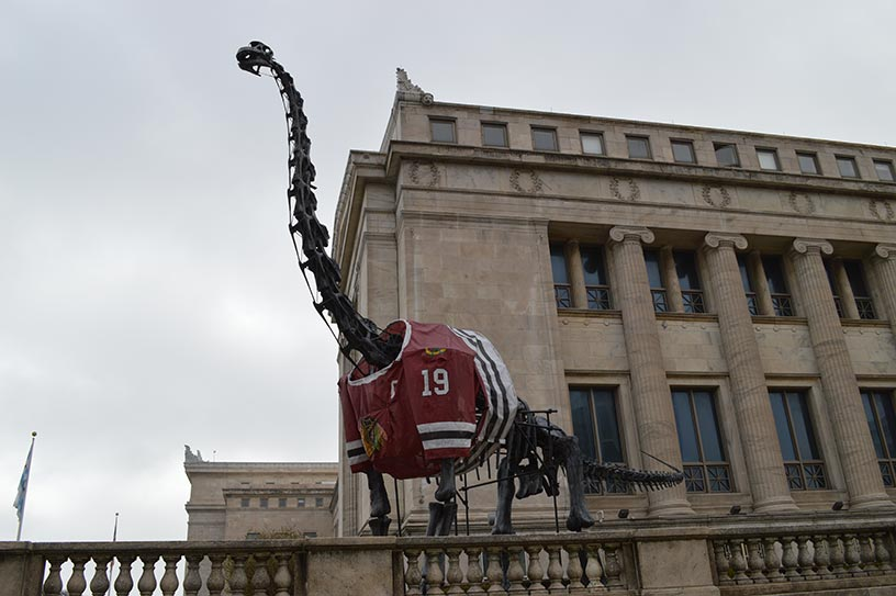 Dinosaure au Chicago Field Museum