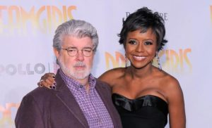 George Lucas et Melody Hobson