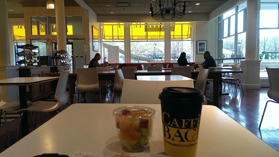 Caffè Baci à Chicago (via HelloChicago.fr)