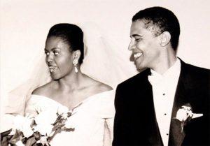 Mariage de Barack Obama et Michelle Robinson