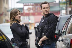 Sophia Bush et Jesse Lee Soffer dans la saison 1 de Chicago P.D.