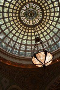 Dome du Chicago Cultural Center