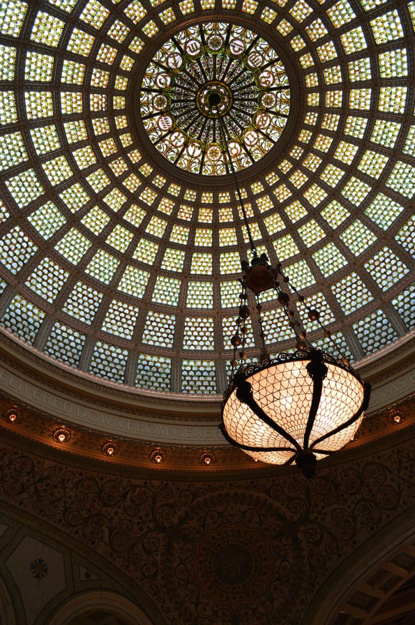 Dome du Chicago Cultural Center