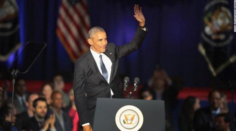 Les adieux de Barack Obama