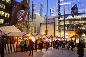 Christkindlmarket - marché de Noël à Chicago