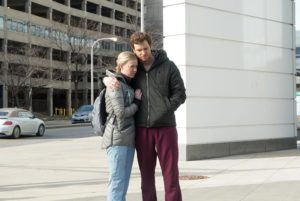 Patti Murin et Nick Gehlfuss dans la saison 2 de Chicago Med