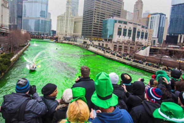 Saint-Patrick à Chicago