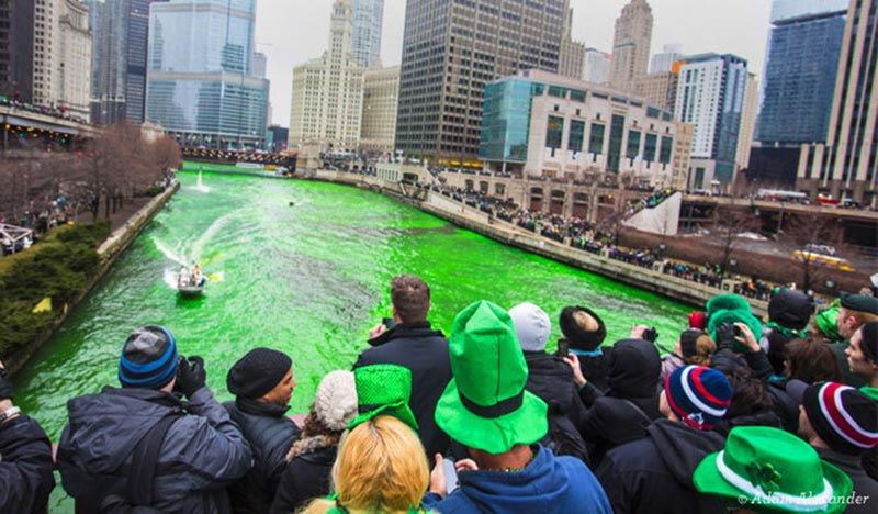 Saint-Patrick à Chicago
