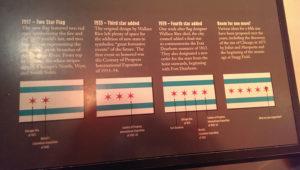 Chicago History Museum - Drapeau (via hellochicago.fr)