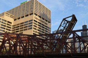 Chicago SunTimes - Kinzie Street bridge