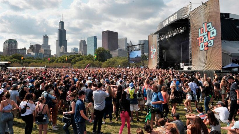 Festival Lollapalooza à Chicago : édition 2018 (via hellochicago.fr)