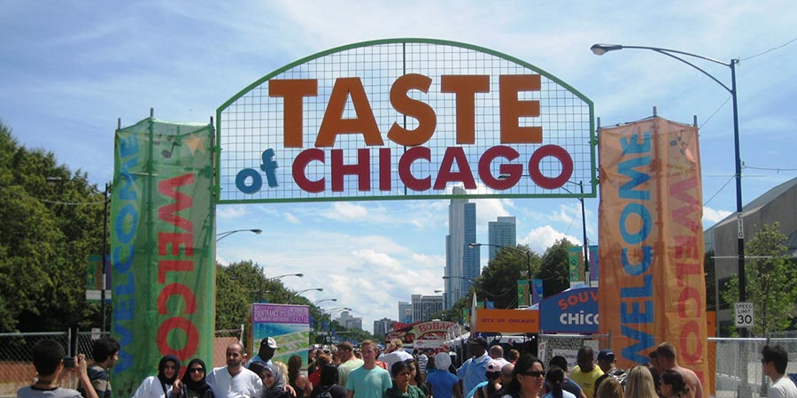 Taste of Chicago : le plus grand festival gastronomique du monde (via hellochicago.fr)