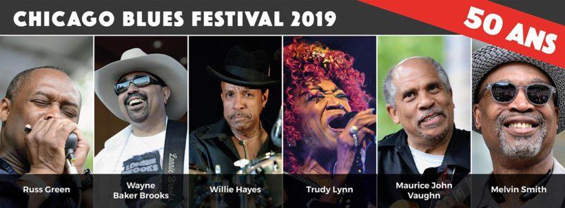 Chicago Blues Festival - les 50-ans au New Morning de Paris