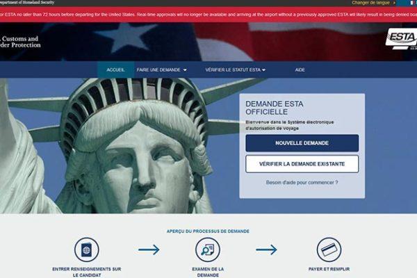 ESTA - site officiel