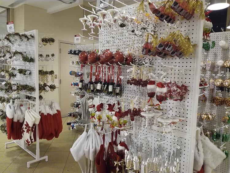 Décorations de Noël chez Macy's
