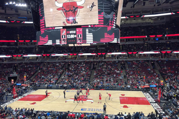Chicago Bulls à l'United Center