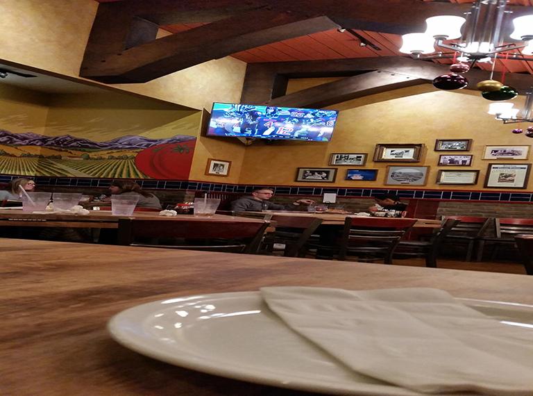 Dee-Dish Pizza chez Lou Malnati's à Chicago