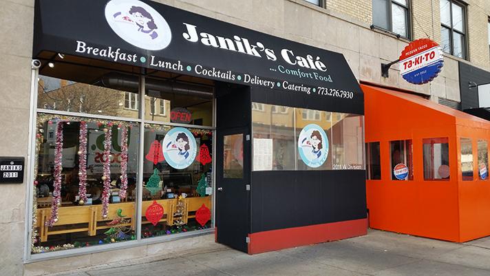 Janik's Café à Chicago