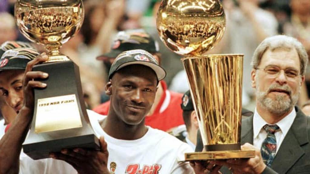 Michael Jordan et Phil Jackson - Chicago Bulls 1998