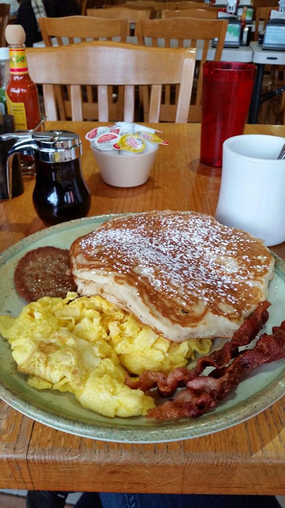 Pancakes de chez Janik's Cafe