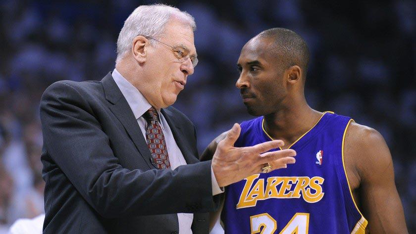 Phil Jackson et Kobe Bryant