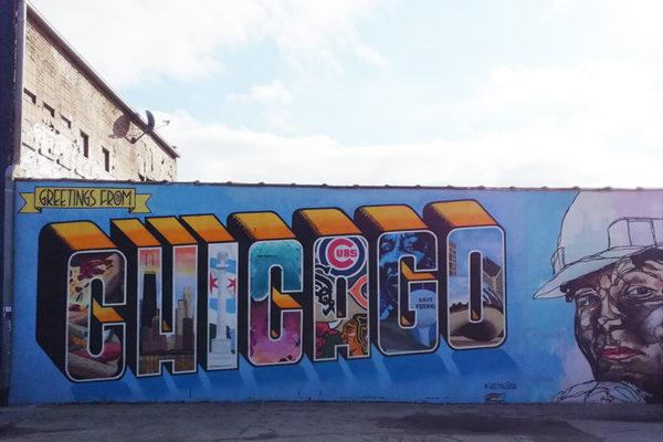 Chicago Street-Art - California station