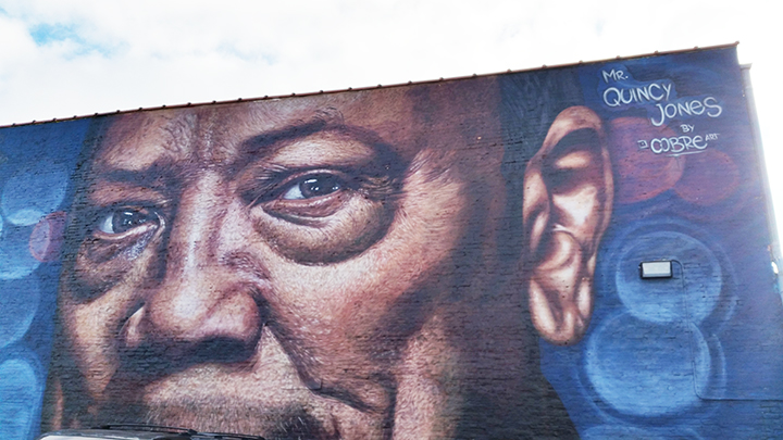 Quincy Jones street-art Chicago