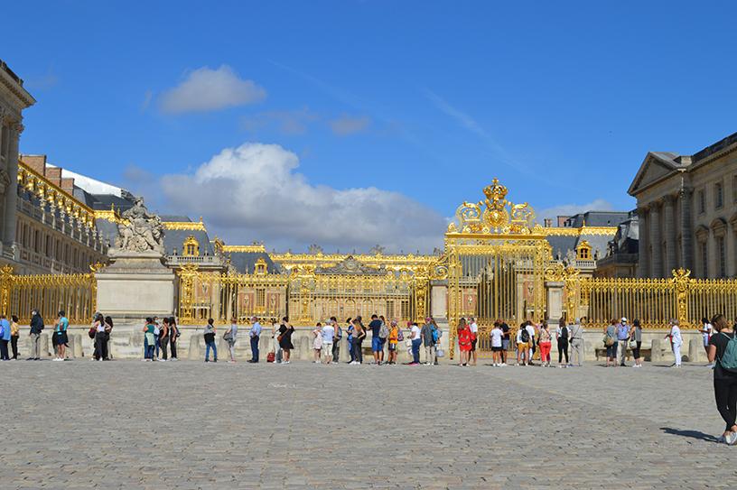 Entrée du Château de Versailles