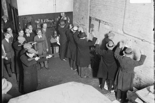 Al Capone - massacre de la Saint-Valentin